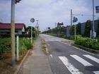 浜野駅西側交差点