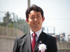 テープカットの熊谷市長